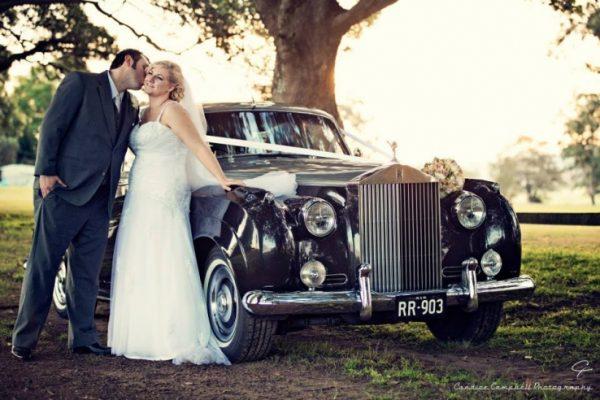 Elizabeth - Exclusive Vintage Wedding Cars Hunter Valley Vintage Wedding Car Hire Pokolbin Lovedale Maitland Newcastle Cessnock