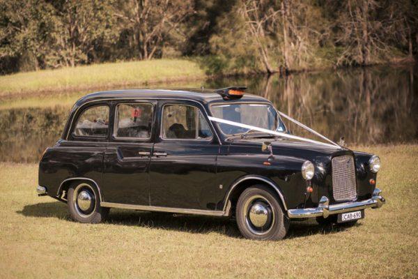 a-cabby02 - Exclusive Vintage Wedding Cars Hunter Valley Vintage Wedding Car Hire Pokolbin Lovedale Maitland Newcastle Cessnock