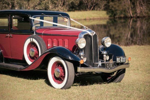 a-clyde03-min - Exclusive Vintage Wedding Cars Hunter Valley Vintage Wedding Car Hire Pokolbin Lovedale Maitland Newcastle Cessnock