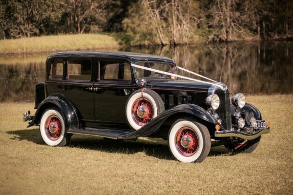 a-oscar02 - Exclusive Vintage Wedding Cars Hunter Valley Vintage Wedding Car Hire Pokolbin Lovedale Maitland Newcastle Cessnock