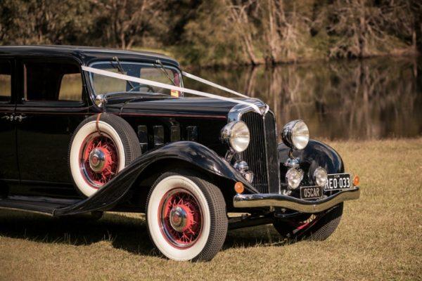 a-oscar03 - Exclusive Vintage Wedding Cars Hunter Valley Vintage Wedding Car Hire Pokolbin Lovedale Maitland Newcastle Cessnock