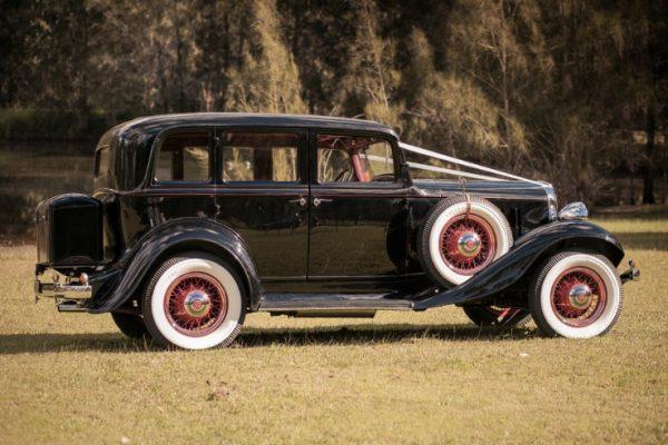 a-oscar05 - Exclusive Vintage Wedding Cars Hunter Valley Vintage Wedding Car Hire Pokolbin Lovedale Maitland Newcastle Cessnock