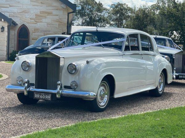 Isabella 1960 Silver Cloud 2 Rolls Royce Hunter Valley Newcastle